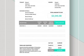 002 Awful Rent Receipt Template Google Doc Picture  Invoice Rental