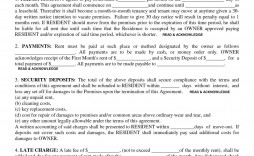 002 Awful Template For Property Rental Agreement High Resolution  Commercial Sample India