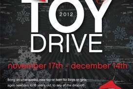 002 Awful Toy Drive Flyer Template Free Design  Download Christma