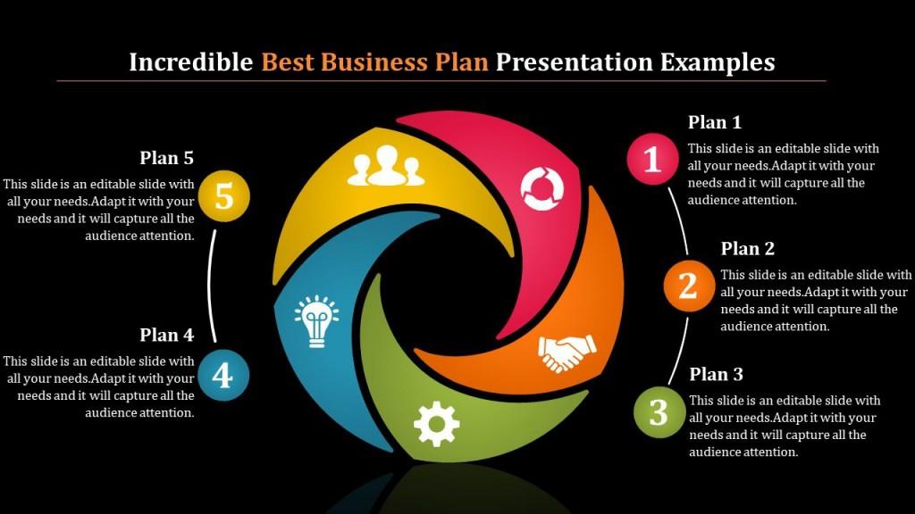 002 Beautiful Best Busines Plan Template High Resolution  Ppt Free DownloadLarge