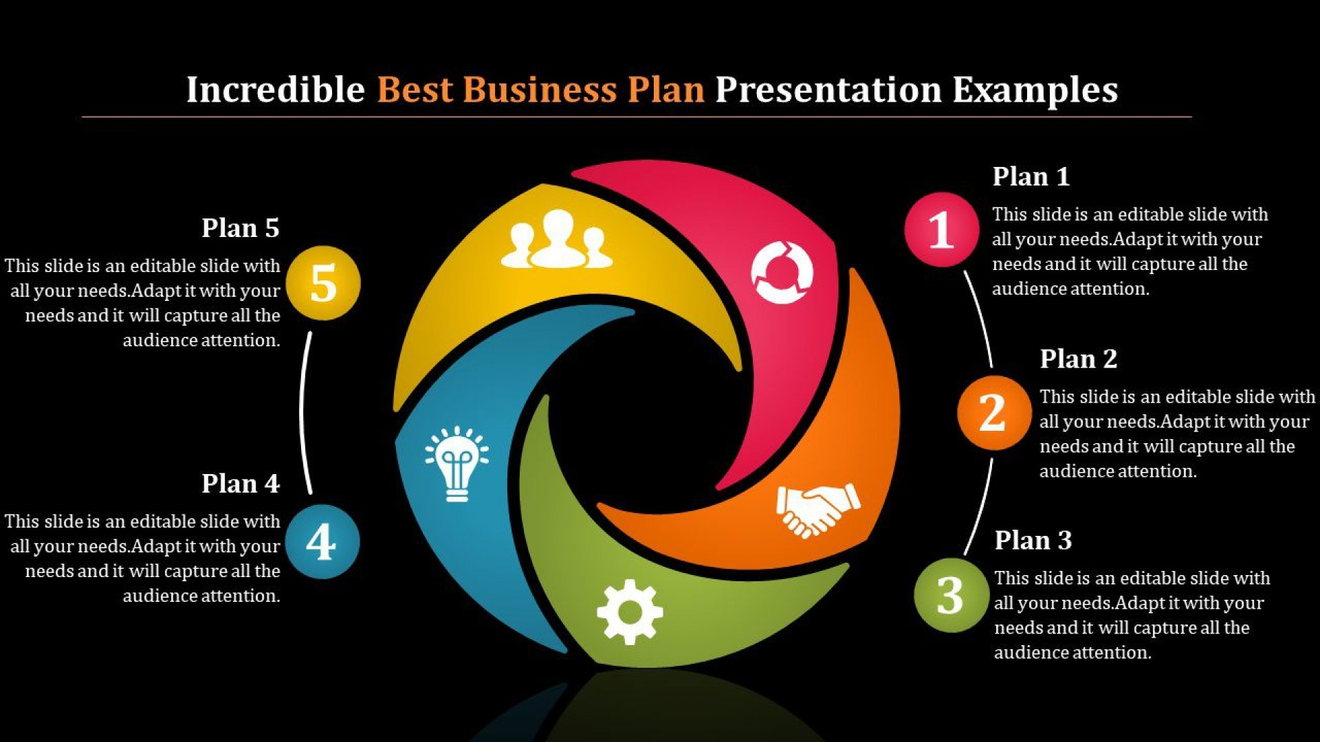 002 Beautiful Best Busines Plan Template High Resolution  Ppt Free Download1920
