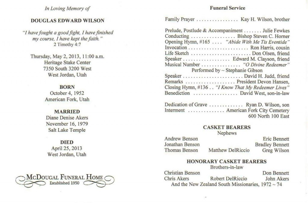 002 Beautiful Catholic Funeral Program Template High Def  Mas Layout FreeLarge