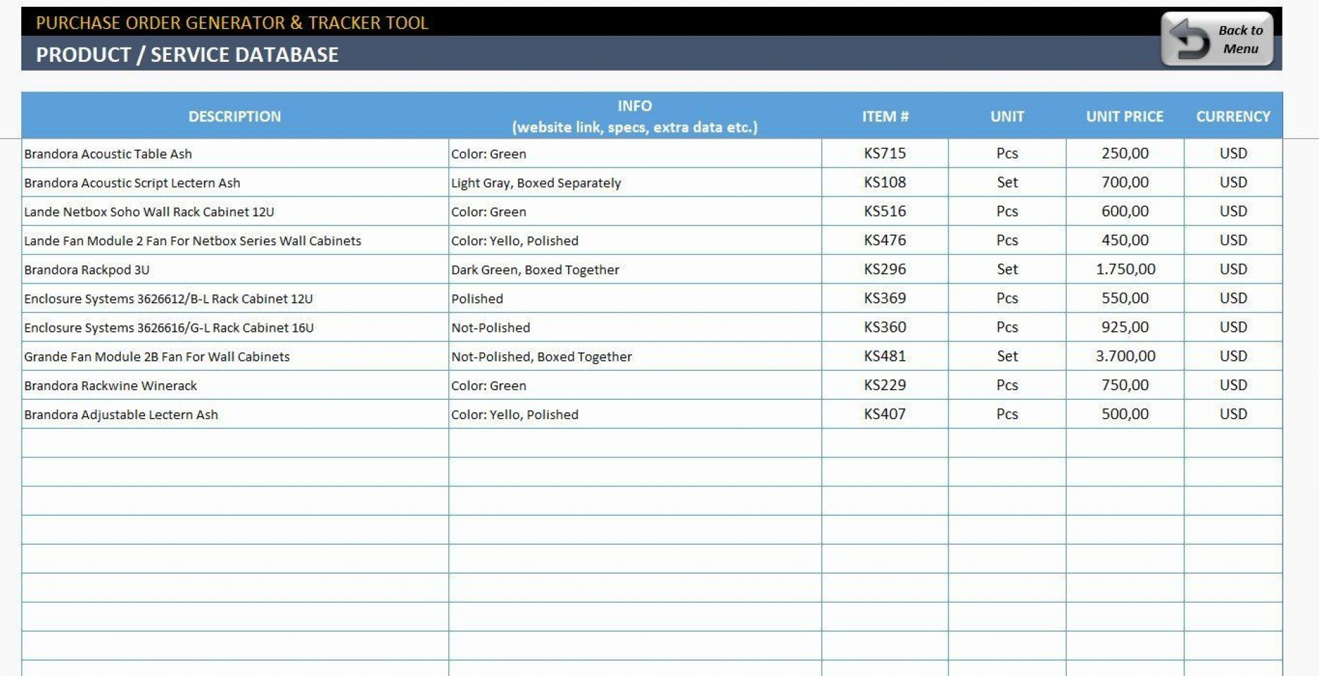 002 Beautiful Excel Spreadsheet Work Order Template Sample 1920