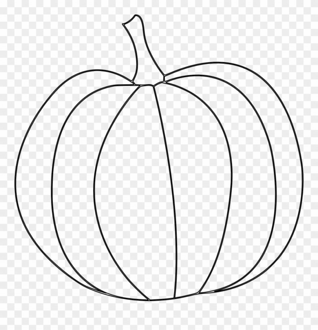 002 Beautiful Free Pumpkin Template Printable Image  Easy Carving Scary StencilLarge
