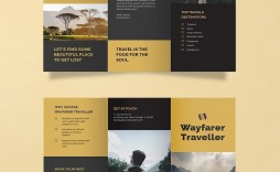 002 Beautiful M Word Travel Brochure Template Picture  Microsoft Free
