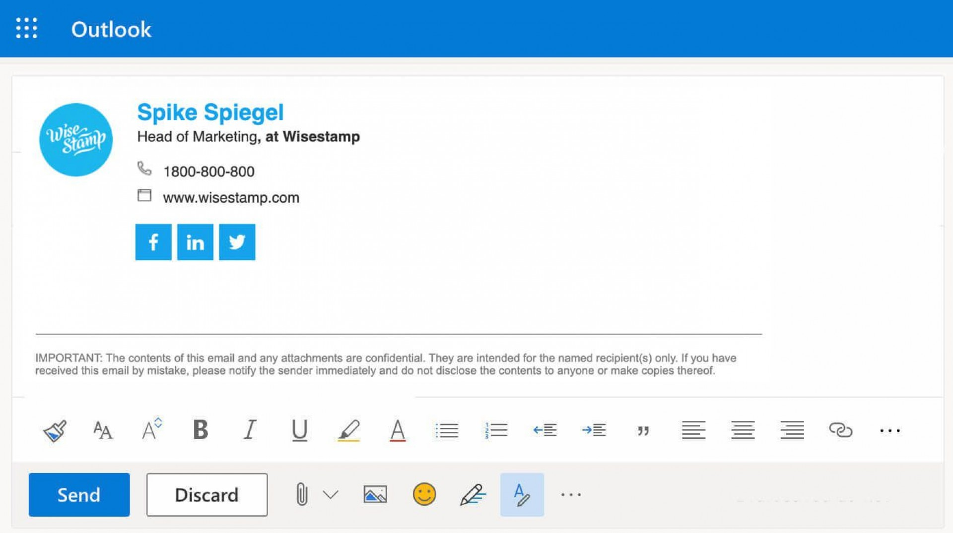 002 Beautiful Outlook Email Signature Template Photo  Example Free Download Best1920