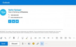002 Beautiful Outlook Email Signature Template Photo  Example Free Download Best