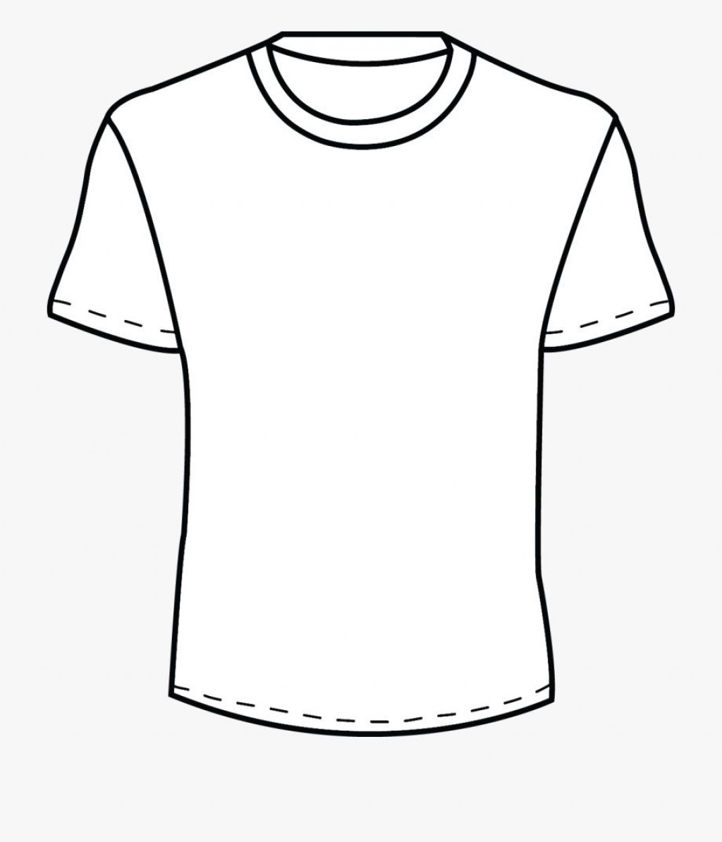 002 Beautiful Plain T Shirt Template Concept  Blank Front And BackLarge