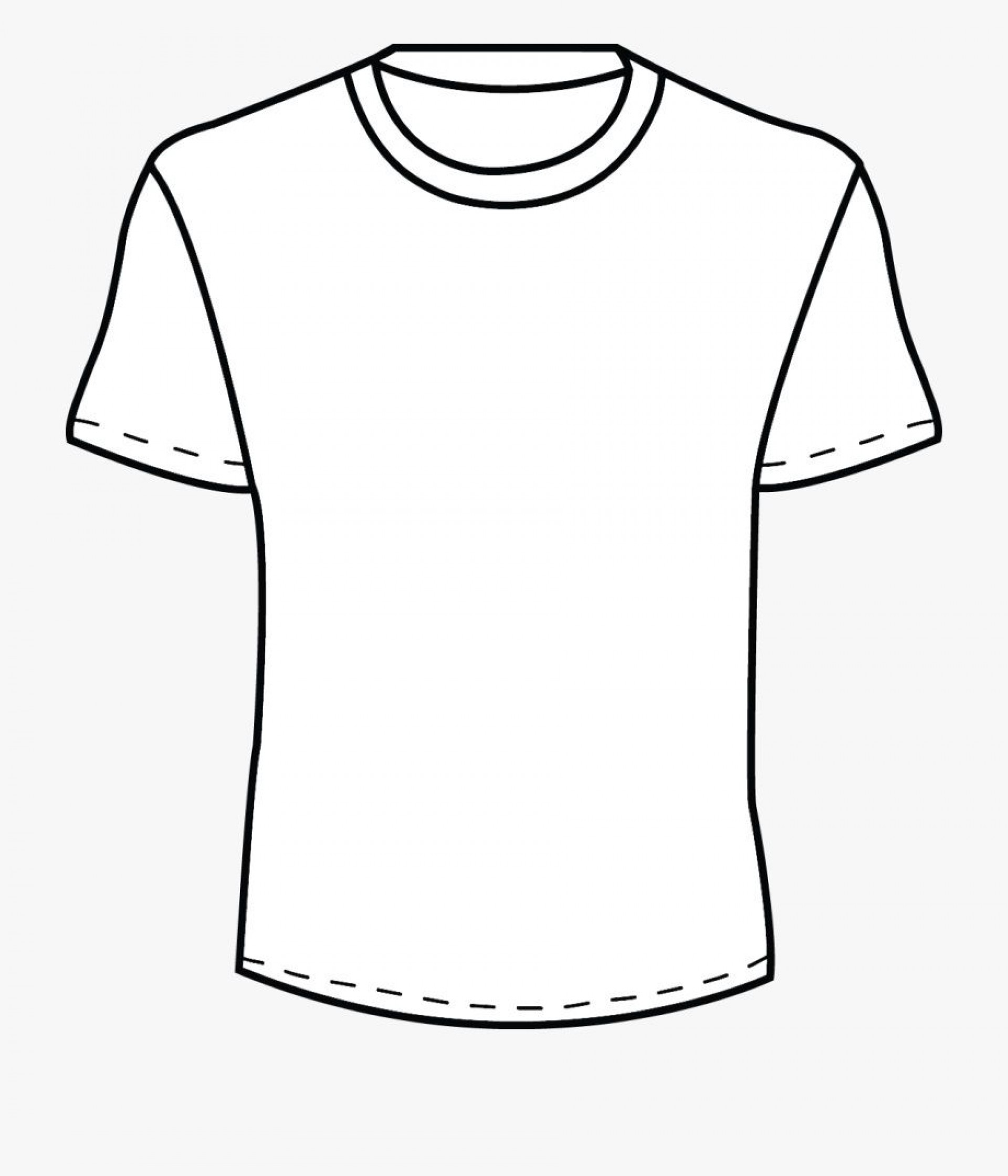 002 Beautiful Plain T Shirt Template Concept  Blank Front And Back1920