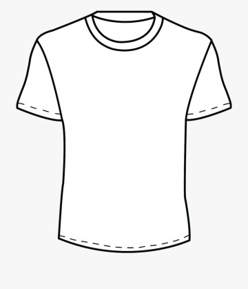 002 Beautiful Plain T Shirt Template Concept  Blank Front And Back360