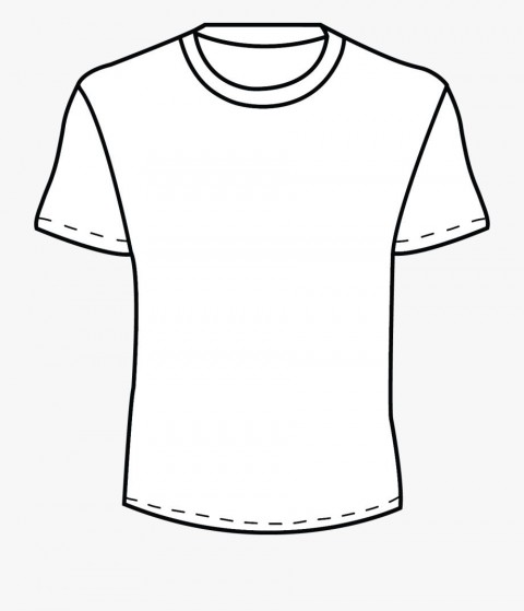 002 Beautiful Plain T Shirt Template Concept  Blank Front And Back480