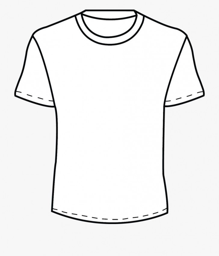 002 Beautiful Plain T Shirt Template Concept  Blank Front And Back728