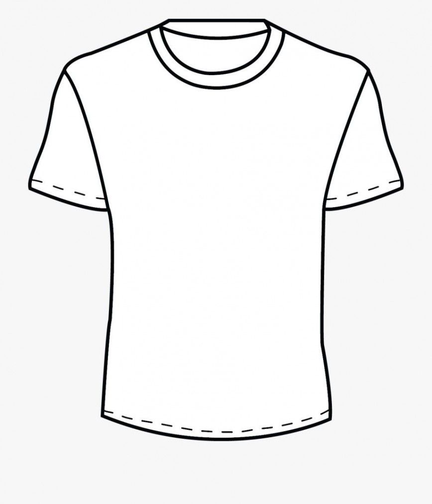002 Beautiful Plain T Shirt Template Concept  Blank Front And Back868