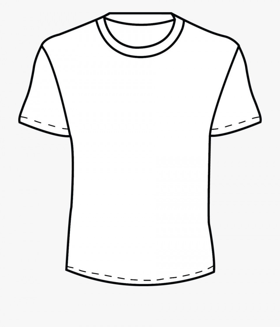 002 Beautiful Plain T Shirt Template Concept  Blank Front And Back960