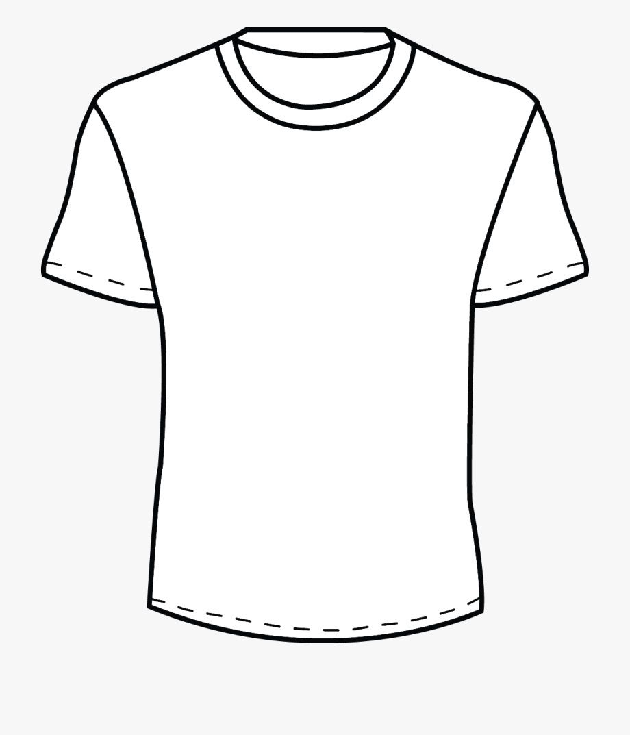 002 Beautiful Plain T Shirt Template Concept  Blank Front And BackFull