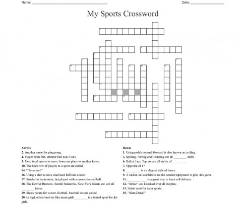 002 Beautiful Racket Crossword Clue Highest Clarity  Awful 7 Letter La Time480