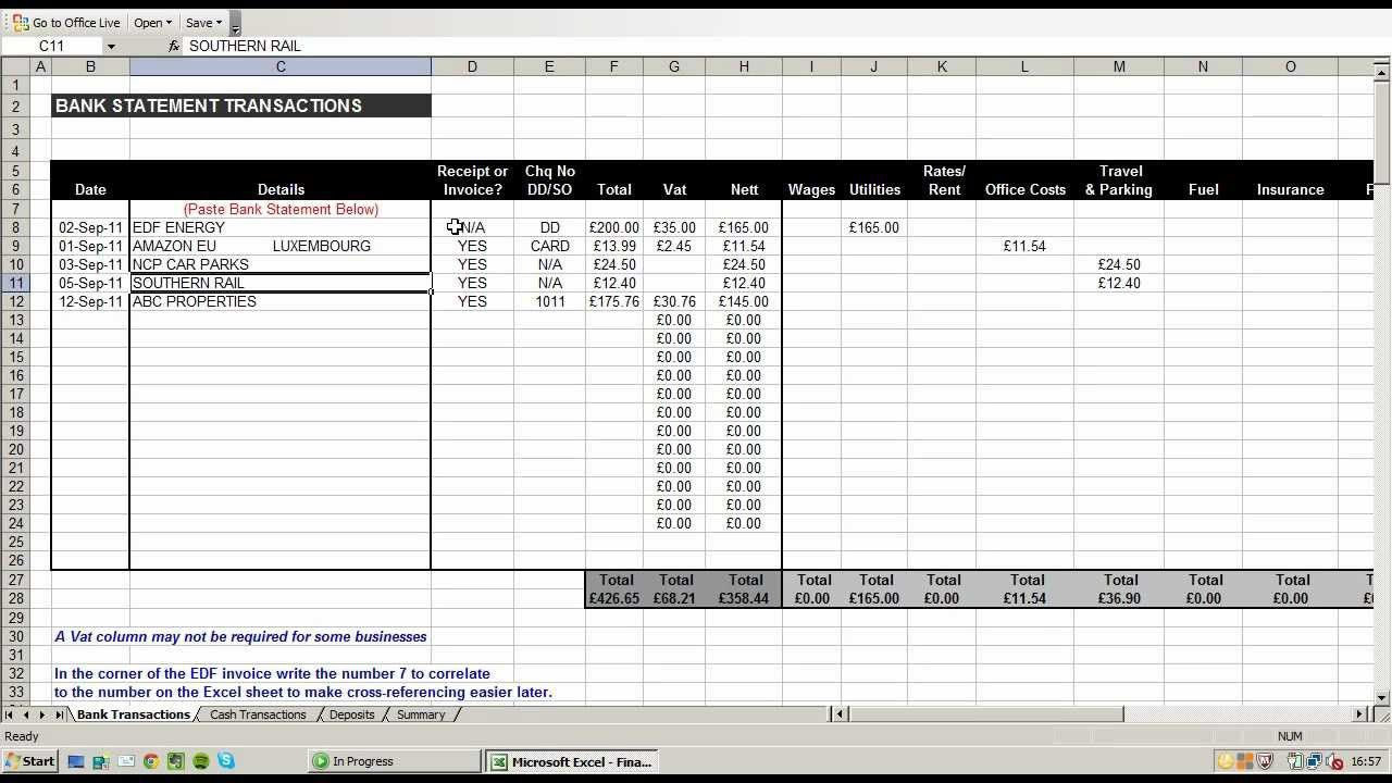 002 Beautiful Small Busines Expense Report Template Excel Concept Full