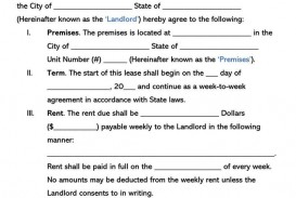 002 Beautiful Template For Renter Lease Agreement Photo  Free Apartment