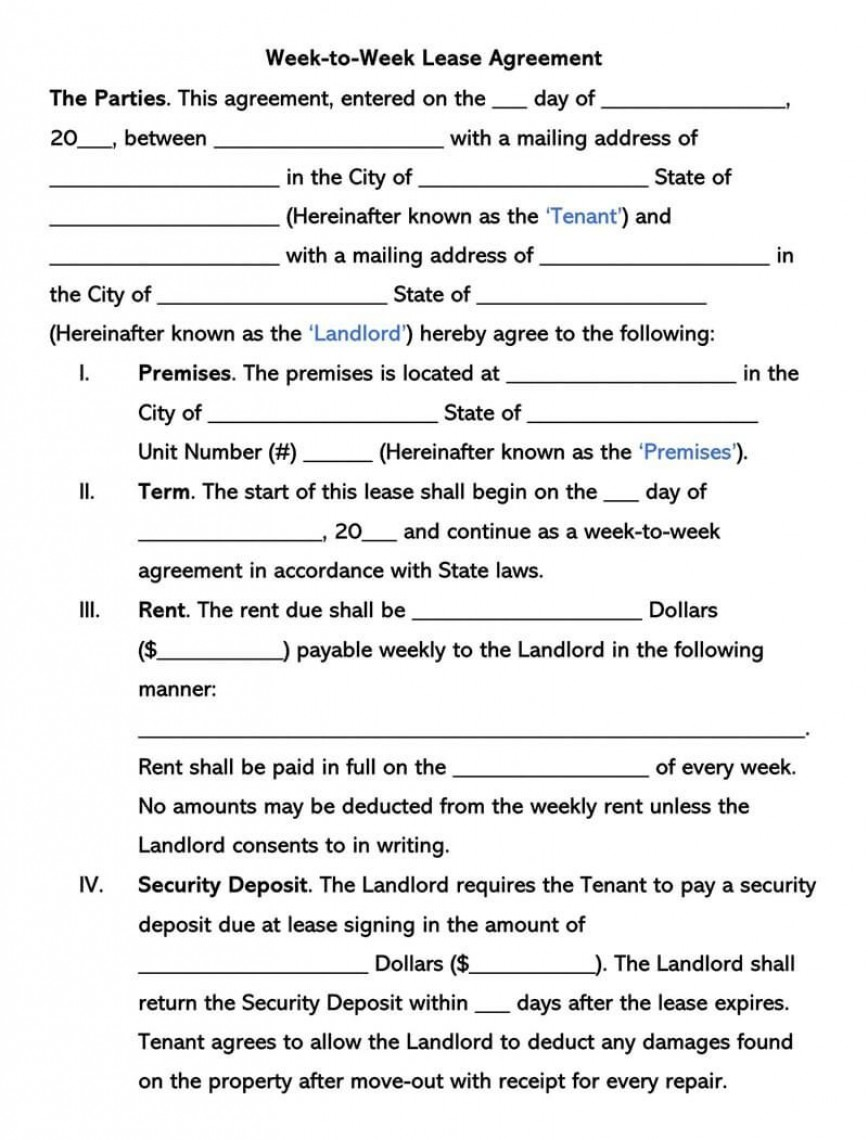 002 Beautiful Template For Renter Lease Agreement Photo  Free Apartment868