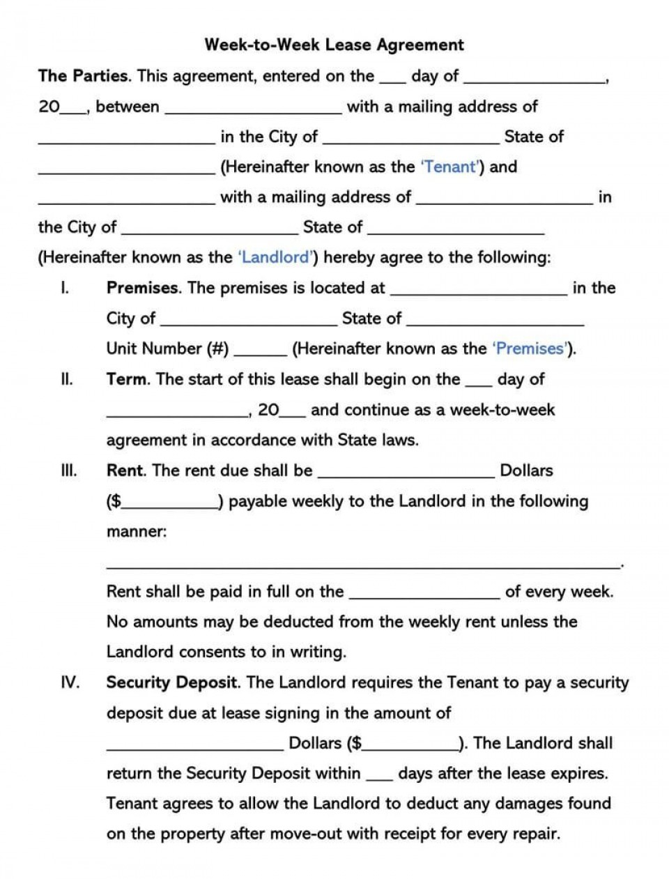002 Beautiful Template For Renter Lease Agreement Photo  Free Apartment960