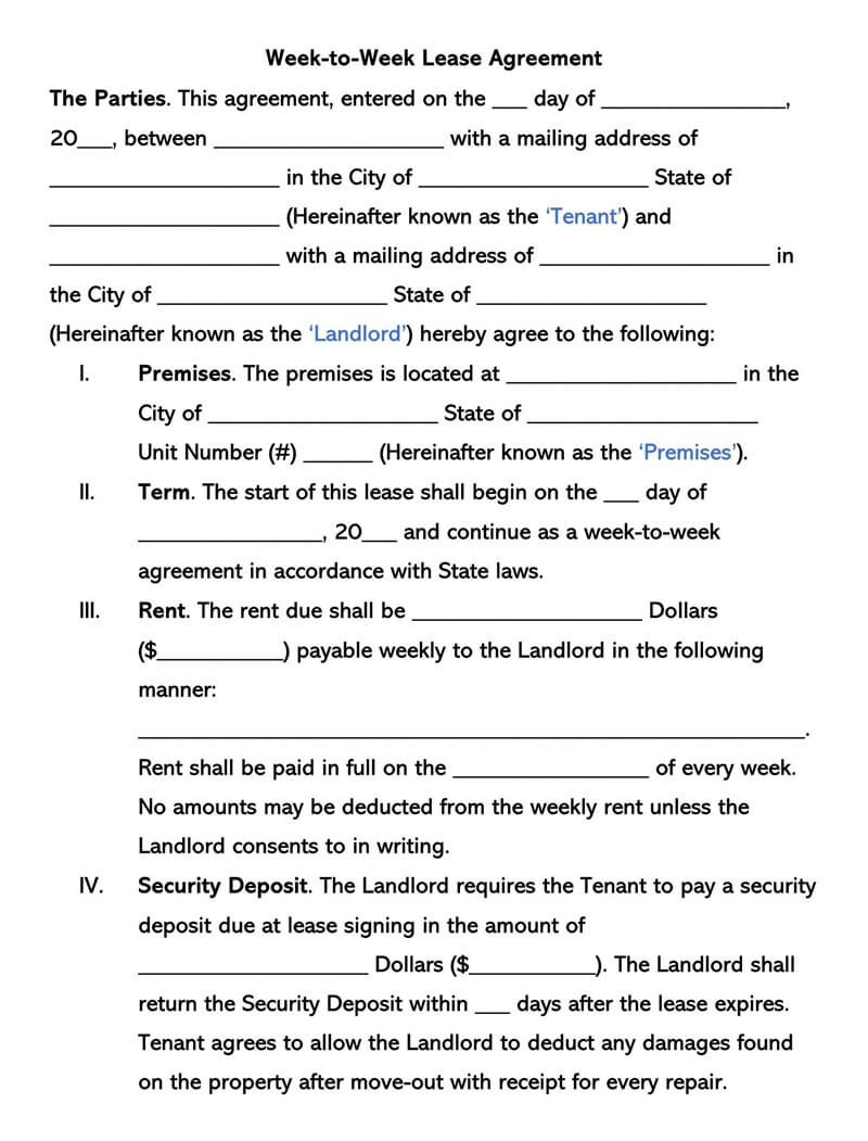 002 Beautiful Template For Renter Lease Agreement Photo  Free ApartmentFull