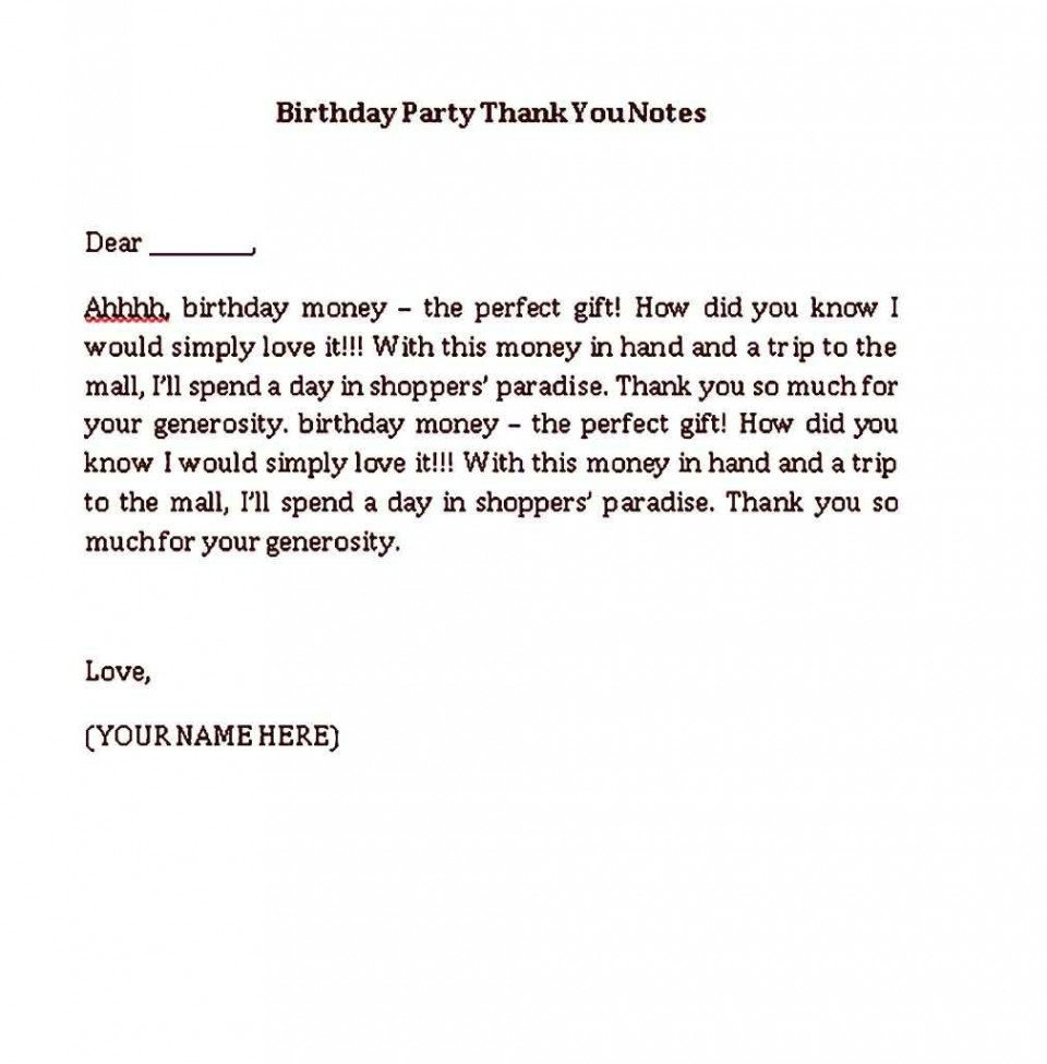 002 Beautiful Thank You Note Template Pdf High Resolution  Letter Sample For Donation Of Good960