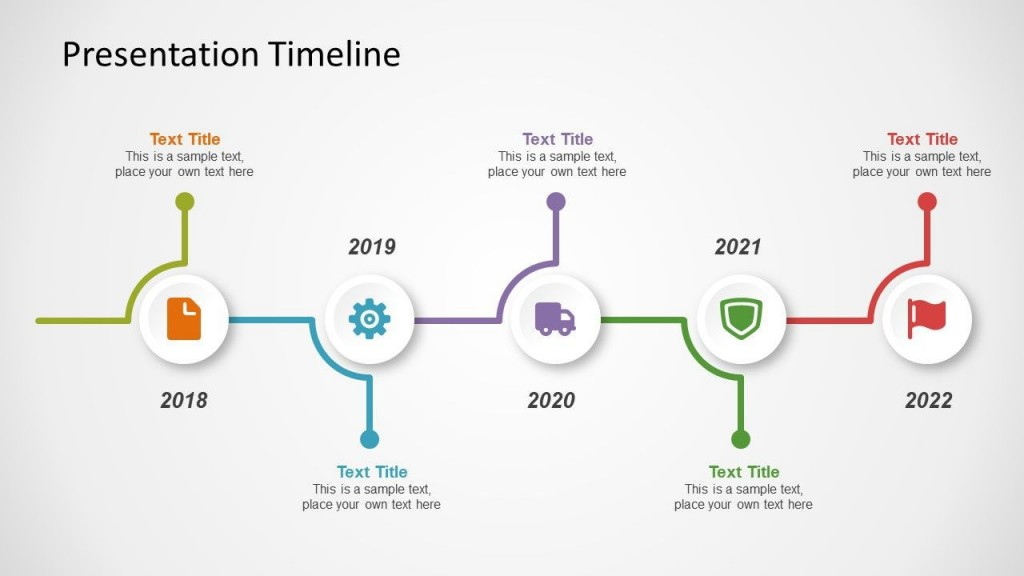 002 Beautiful Timeline Example Presentation Design  Project Slide TemplateLarge