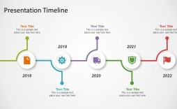 002 Beautiful Timeline Example Presentation Design  Project Slide Template