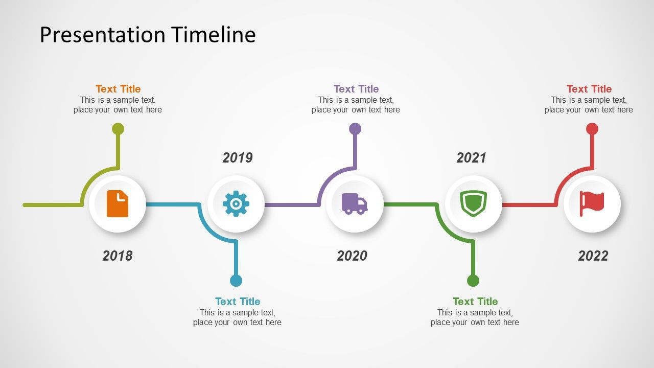 002 Beautiful Timeline Example Presentation Design  Project Slide TemplateFull