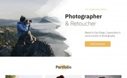 002 Beautiful Web Template For Photographer Example  Photography