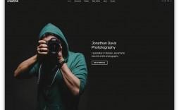 002 Beautiful Website Template For Photographer Image  Photographers Free Responsive Photography Php Best