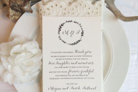 002 Beautiful Wedding Thank You Card Template Picture  Photoshop Word Etsy