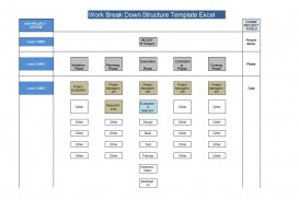 002 Beautiful Work Breakdown Structure Template Sample  Project Excel Example For A Word 2010