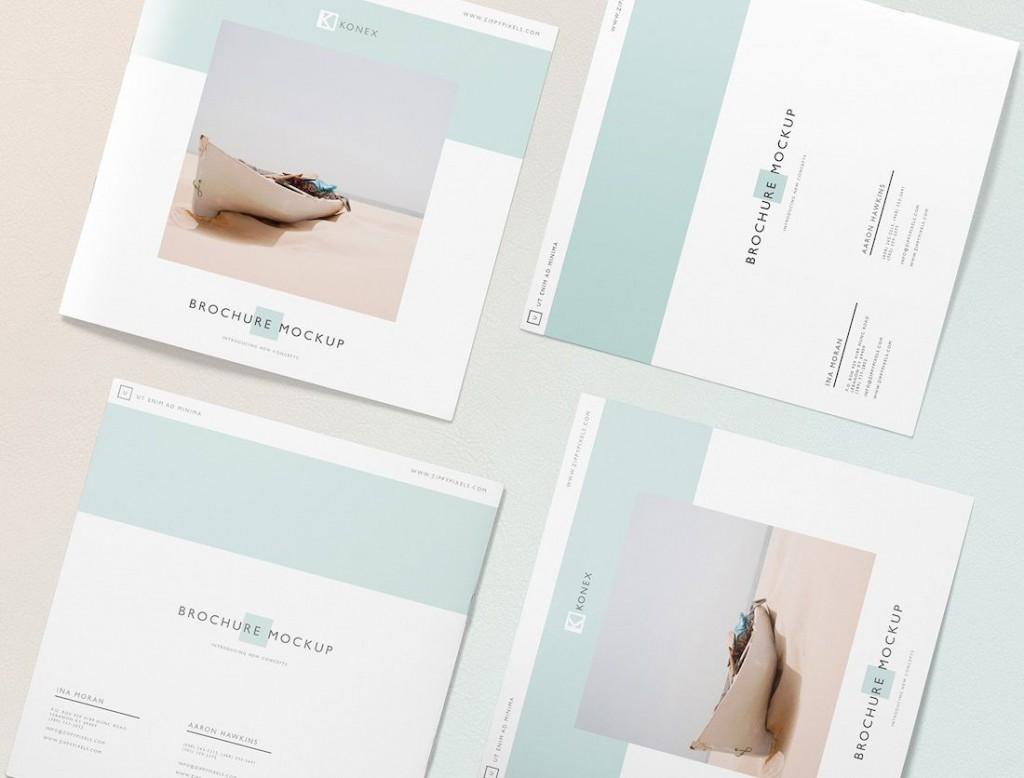 002 Best Brochure Design Template Free Download Psd Large