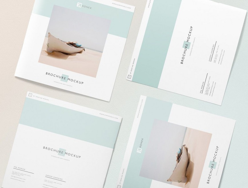 002 Best Brochure Design Template Free Download Psd