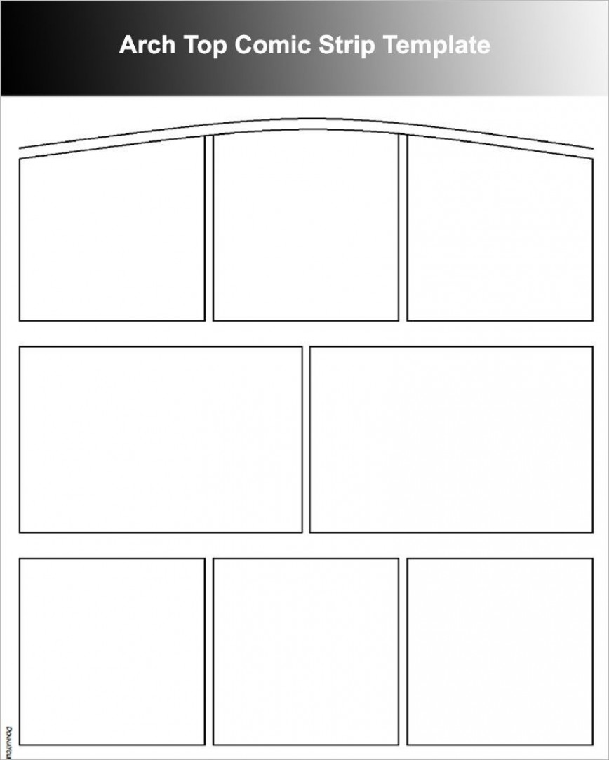 002 Best Comic Strip Template Word Sample  Doc Layout For Book