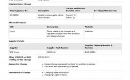 002 Best Engineering Change Order Template High Resolution