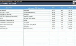 002 Best Excel Work Order Tracking Template Design  Construction Microsoft