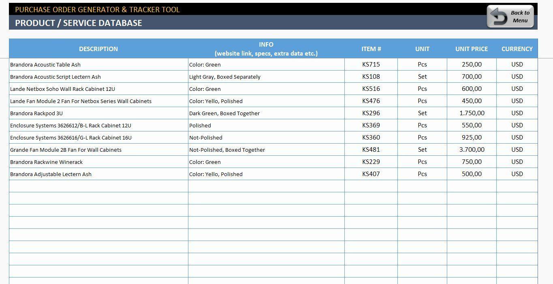 002 Best Excel Work Order Tracking Template Design  Construction MicrosoftFull