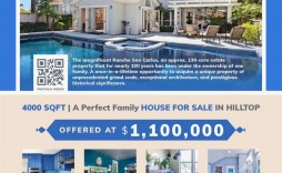 002 Best For Sale Flyer Template Example  Car Ad Microsoft Word House