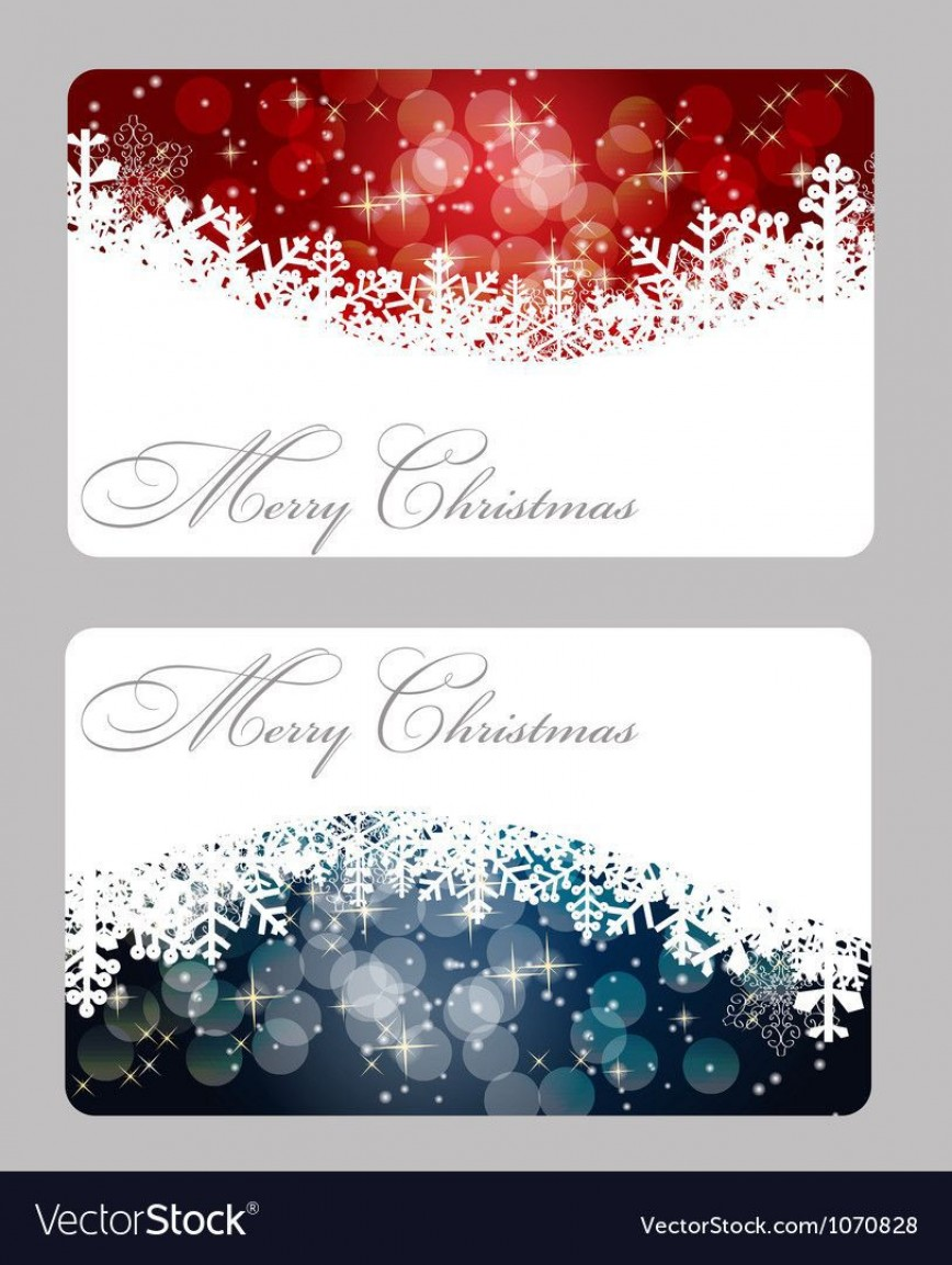 002 Best Holiday Card Template Free Highest Clarity  Christma Gift Word Recipe For