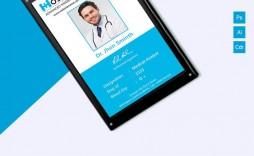 002 Best Id Card Template Free Sample  Download Pdf Design