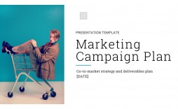 002 Best Marketing Campaign Plan Template Free Photo