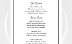 002 Best Menu Card Template Free Download High Resolution  Indian Restaurant Design Cafe