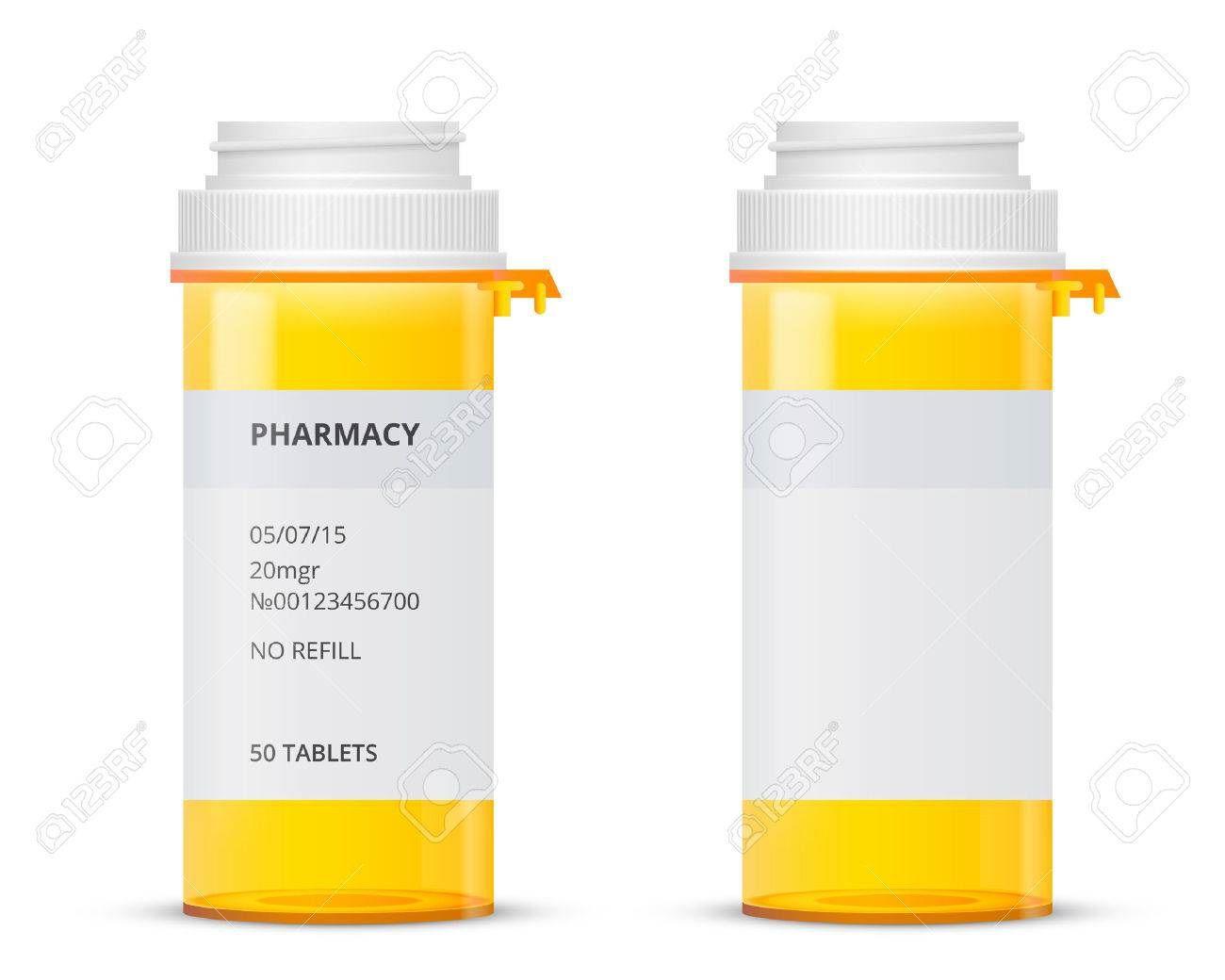 002 Best Pill Bottle Label Template Image  Vintage Medicine Printable FreeFull