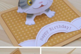 002 Best Pop Up Card Template Free Sample  Creative Pattern Download Pop-up