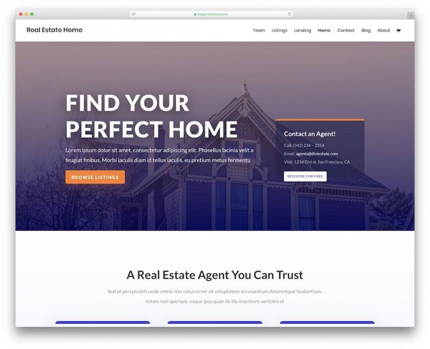 002 Best Real Estate Website Template Idea  Templates Responsive Free Download Html With Cs Idx Wordpres