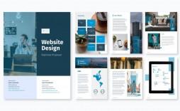 002 Best Web Design Proposal Template Free Image  Freelance Download
