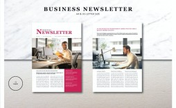 002 Breathtaking Adobe Indesign Newsletter Template Free Download Sample