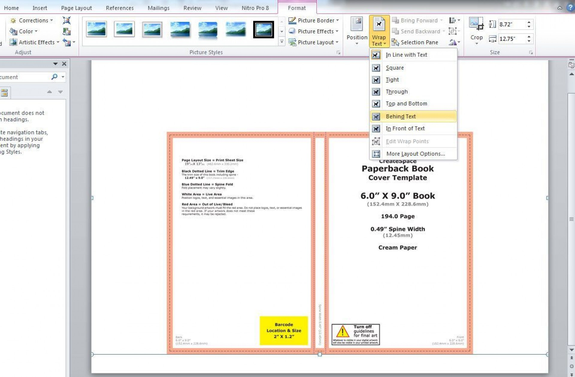 002 Breathtaking Book Template Microsoft Word Idea  Addres Free Outline Comic Script1920